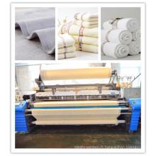 Elecjacquard Cam Shedding Hotel Serviette en coton Fabricant Air Jet Machine pour textile