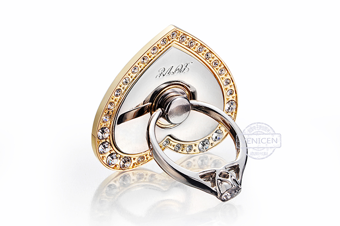 diamond mobile phone ring