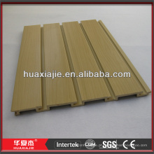 Perfil de plástico slatwall pvc