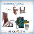 Straight reverse twisted hexagonal wire mesh netting machine