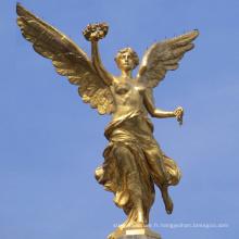 Fournisseur chinois de haute qualité Mexique bronze ange statue