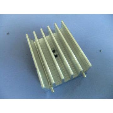 Custom CNC Machining Heatsink with Precision Anodized Aluminum Alloy