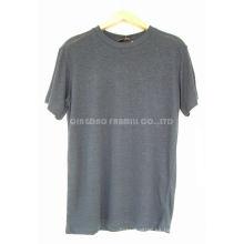 Hombres y mujeres de cáñamo algodón orgánico camisetas (HG-BN-25)