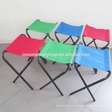 promoción caliente camping playa pesca plegable ligero portátil silla