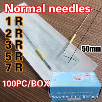 Excellent quality for for Permanent Makeup Pen Normal Permanent Makeup Needles supply to Israel Manufacturers