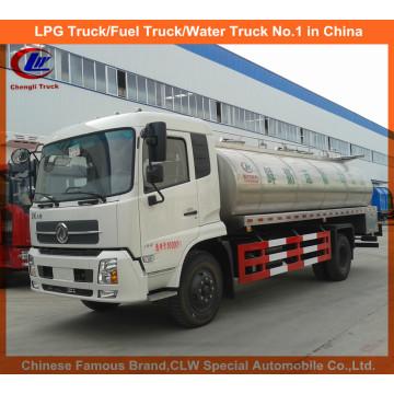 Camion de transport de lait frais de camion de lait de 10m3 Dongfeng à vendre