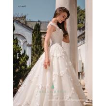 Vestido de noiva com pingente de renda cinderela vestido vestido de noiva vestido de noiva com trem de catedral