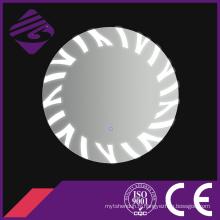 Jnh209 Miroir rond mural économique de style européen avec lumière LED