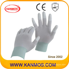 Anti-Static Nylon Knitted PU Dipped Industrial Safety Work Gloves (54001)
