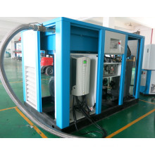 Screw frequency inverter air compressor