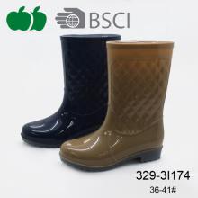 Hot Selling New Fashionable Pvc Plastic Lady Rain Boot
