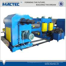 Machine de gaufrage de tuyau d'acier inoxydable de feuille d'aluminium