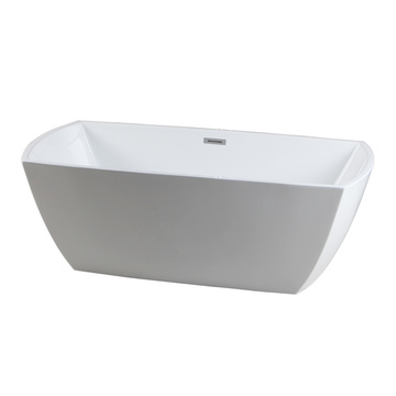 Modern Square Acrylic FreeStanding Bathtub