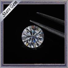 Учжоу высокое качество большой размер Moissante Loost камень в 8 сердец и 8 стрел резки