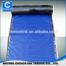 Folha de membrana para betume auto-adesivo