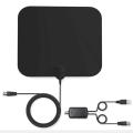 Cheapest Price Free Channels Indoor Clear Digital HD TV Antenna  Coaxial Cable Ubiquity