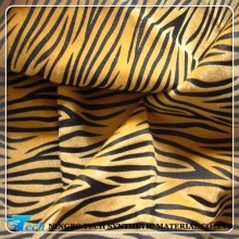 animal print fabric leather animal hair, bag or shoe making material(2015 cuero sinteticos para zapatos)