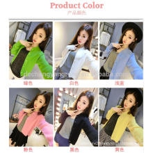 Fashion small high collar lady sweater