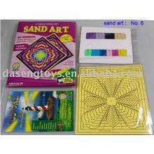 Sand Art--Christmas