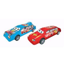 Venda quente dos desenhos animados de plástico modelo de brinquedo carro de fricção (10208588)