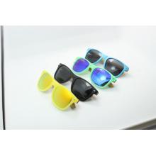 Cor de doces óculos de sol de madeira (jn0001hq)