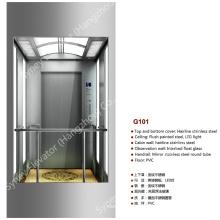 Elevador panorâmico do vidro quadrado para Sightseeing (G101)