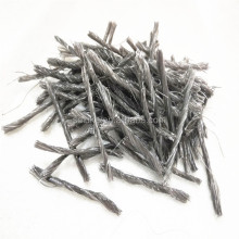 China Synthetic PP Twisted Fibers for concrete