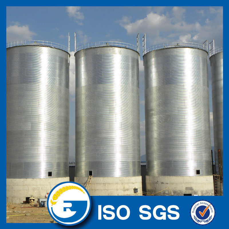 wheat storage silo