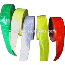 Different colors PVC Reflective Tape Sew on Clothes Caps etc