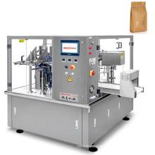 Automatic Premade Pouch Powder Filling Tea Sugar Flour Food Paper Bag Packaging Machine
