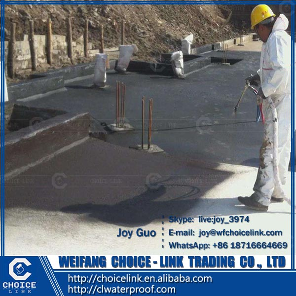water-based double component polyurethane waterproofing coating