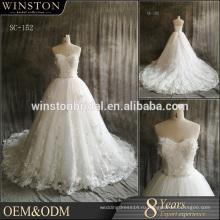 пользовательские популярные новый горячий продавать высокое качество печатных сексуальный свадебные платья