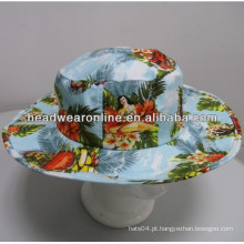 Chapéu personalizado da cubeta