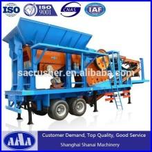 Large crushing capacity Copper Ore Crusher Plant