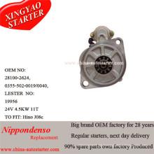 4.5kw 24V Hino Starter Motor Fabricantes (2810078061)
