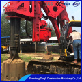 DR-150 bore pilemachine piling driver for road construction