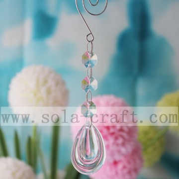 Plastic Crystals Chandelier Lamp Pendants For Decoration