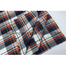 Мода проверяет 100% хлопчатобумажную пряжу, окрашенную в ткань