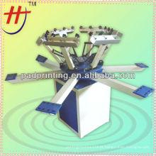 HS-1128 Impressora de tela de seda para T-Shirts com alta qualidade e melhor preço