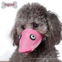 Quente! Funnny Pet Dog Focinho Máscara De Malha Anti Mordedura E Barking Dog Mouth Cover Muzzles