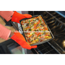 Custom Design Food Grade Kitchen Cooking Oven Silicone BBQ Gloves Heat Resistant/Silicone Grill Oven BBQ Glove/Oven Mitt