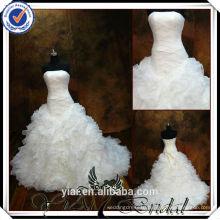 TT0501 east bridal wedding dress in cream color