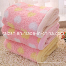 Home Essential Coral Fleece Manta Doble Gruesa