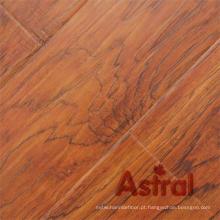 Textura de madeira real registrada (sulco grande de U) revestimento laminado (AY7012)