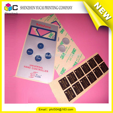 Fashionable design polyester panel labels