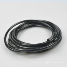 Tubulação flexível do PVC do plástico do UL VW-1 para o ALCANCE de RoHS da cor do preto da resistência do chicote de fios 600V do fio satisfeito
