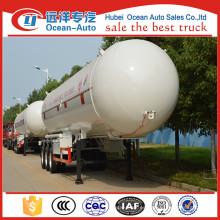 Proveedor de China Venta caliente tri-eje GLP tanque de remolque