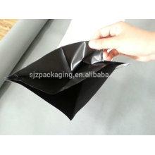 Black White Black Pe Film de protection pour panneau en acier de couleur