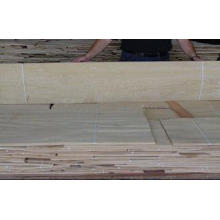 White Natural Ash Wood Veneer Slice Cut 0.5mm Thickness For