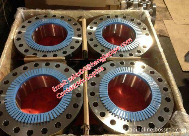ASME B16.47 standard pipe flange